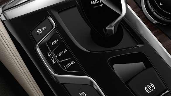 Driving Experience Control BMW 5 Series Sedan 540i Sedan G30 Bluestone metallic interior