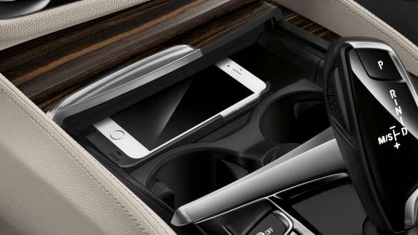 Telephony with wireless charging BMW 5 Series Sedan 540i Sedan G30 Bluestone metallic