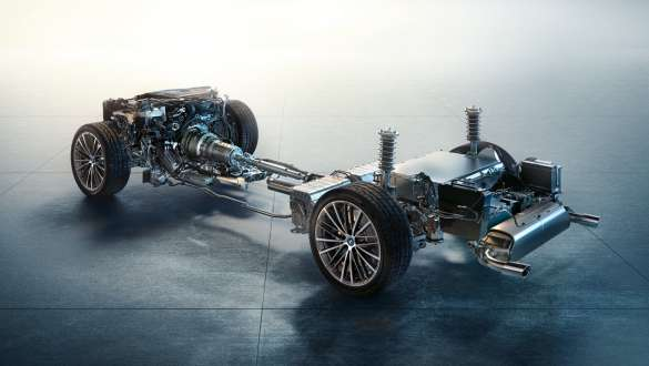 Mild hybrid technology BMW 5 Series Sedan G30 chassis