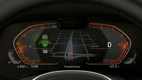 Display instrument cluster Driving Assistant Professional BMW X5 G05 2018 cockpit
